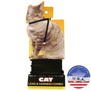 Coastal Pet Adjustable Cat and Small Animal Harness and Leash Combo