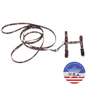 Coastal Fashion Harness & Lead Combo for Cats, 3/8