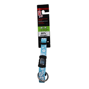 Dogit Adjustable Nylon Collar with Snap for Medium Dogs, 12-18