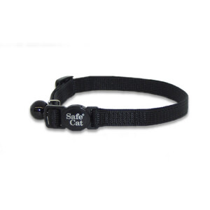 Safe Cat Nylon Adjustable Breakaway Cat Collar