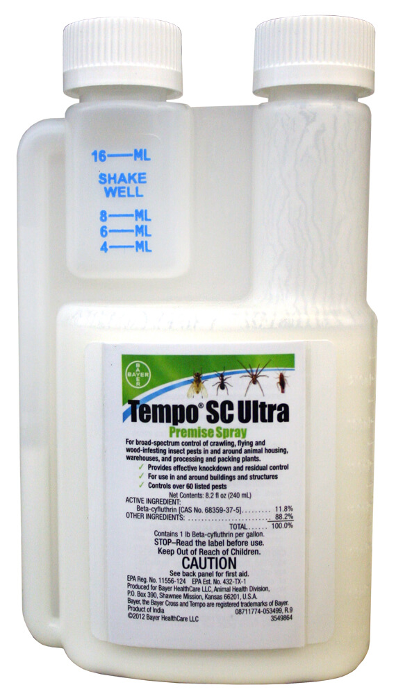 sc ml ultra tempo bed bugs insecticide