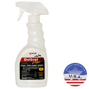 Vet-Kem Ovitrol Plus Flea, Tick & Bot Spray