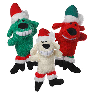 Multipet Loofa Santa, Dog Toy, 6