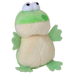 Multipet Look Who's Talking Frog for cats 1.25