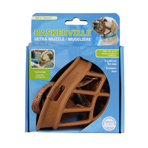 Baskerville Ultra Muzzle, Tan, Size 3
