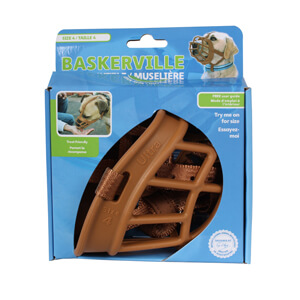 Baskerville Ultra Muzzle, Tan, Size 4