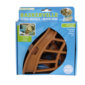 Baskerville Ultra Muzzle, Tan, Size 6