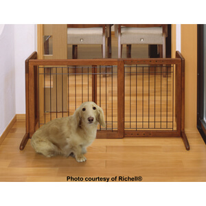 Richell Freestanding Pet Gate Small