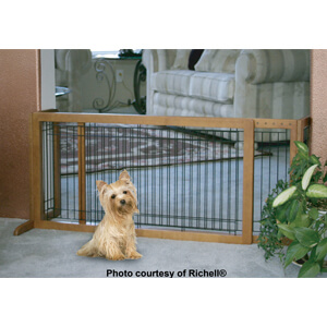 Richell Freestanding Pet Gate Large