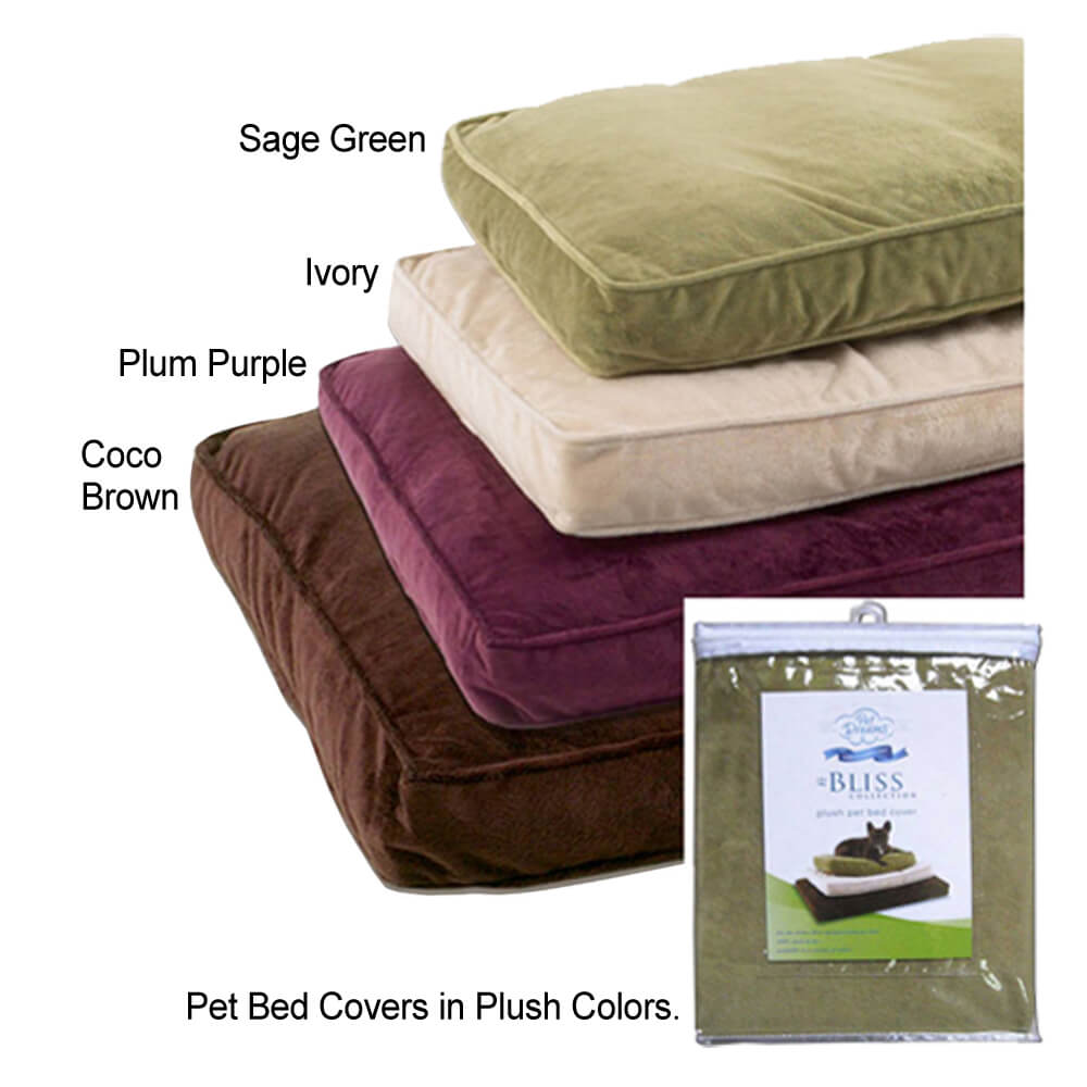 Dog Bed Removable Cover Bedding Sets. Large Kopek. Waterproof Removable Cover Dog Bed Plush Pet ...