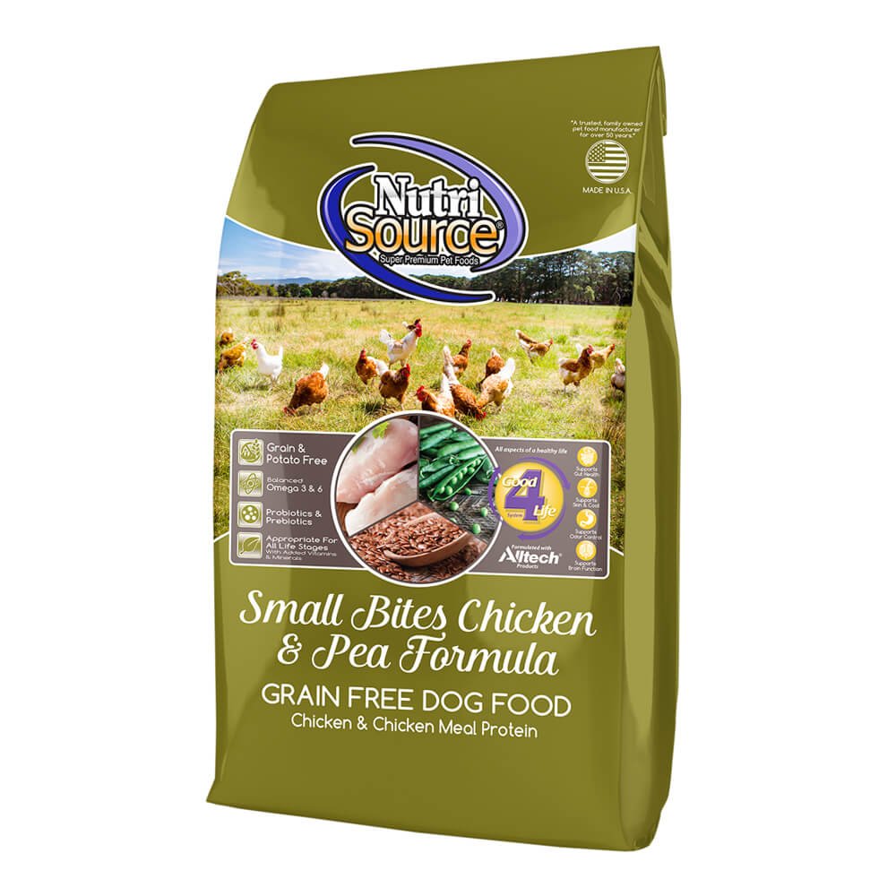 Nutrisource Grain Free Chicken Small Breed Dog Food Lb
