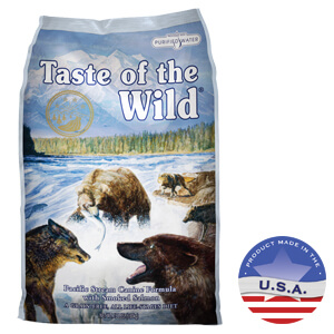 Taste of the Wild Pacific Stream Canine Formula, 15 & 30 lbs