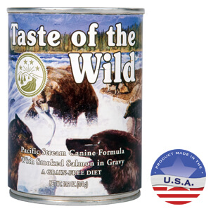 Taste of the Wild Pacific Stream Canine Formula, 13.2oz x 12 ct