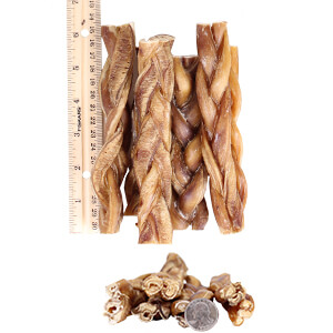 braided bully sticks for dogs 6 7 premium all natural. Black Bedroom Furniture Sets. Home Design Ideas