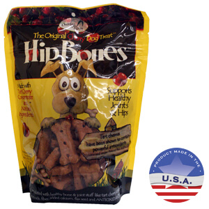 Hip Bones Regular Cherry Biscuits, 17.6 Oz Bag