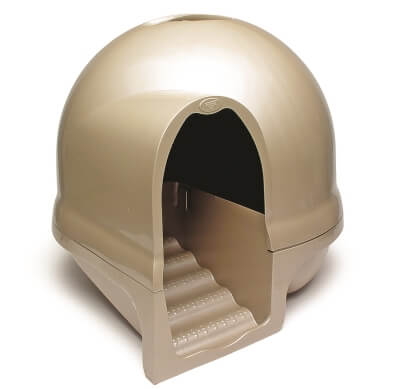 Clean Step Litter Box Titanium