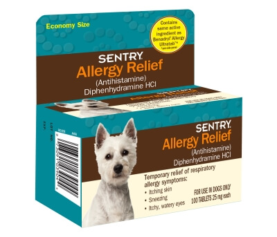 Sentry Allergy Relief Tab 100Ct