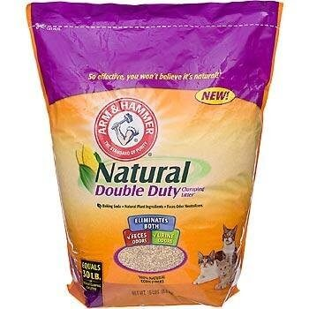 Clumping Litter Natural Double Duty 15lb