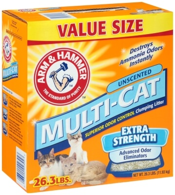 Multi Cat Litter Unscented 26.3lb