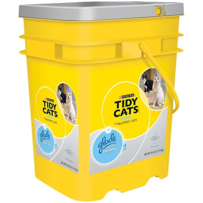 Tidy Cats Glade Tos Tough Odor Solutions 35lb