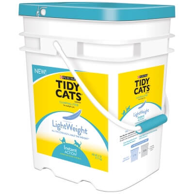 Tidy Cats Instant Action Clumping Light Weight 17lb