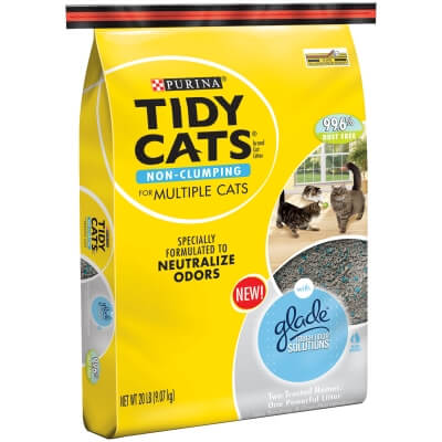 Tidy Cats Glade Tos Tough Odor Solutions Multi Cat 20lb