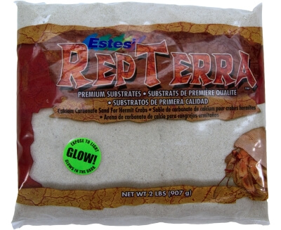 Repterra Sand Glow In The Dark 6/2lb Bags