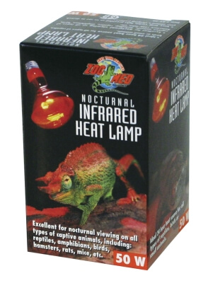 Red Infrared Heat Lamp 50w