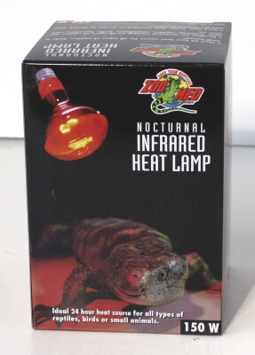 Red Infrared Heat Lamp 150W