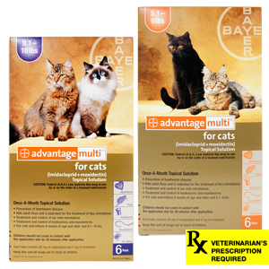 Advantage Multi Rx for Cats