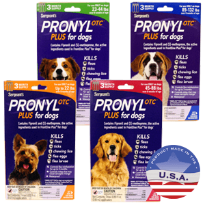 Sergeant's Pronyl OTC Plus for Dogs