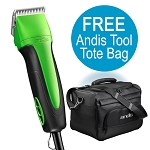 Andis Excel 5 Spd-Clipper Green  w/ FREE 5/8HT Blade