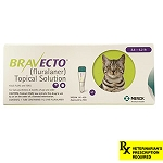 Rx, Bravecto Topical Solutions for Cats