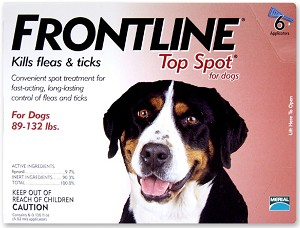 Frontline Top Spot for Dogs, 89-132 lbs, 6 Month