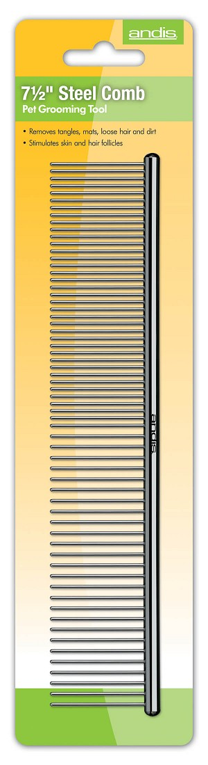 "Andis Steel Comb, 7-1/2"" inches"