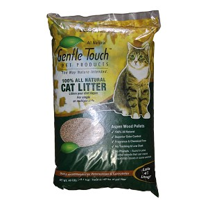 Cat Litter Aspen Wood Pellets