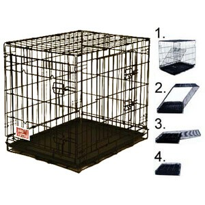 Majestic Pet Products Double Door Crate