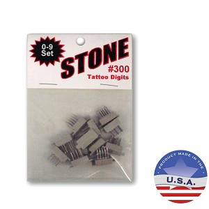 Stone Pet Tattoo Digit Set #300