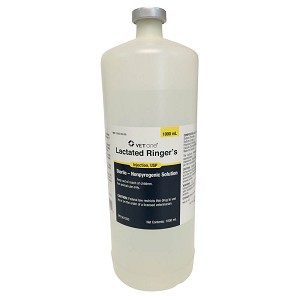 Rx, Lactated Ringer, 1000 mL Bottle