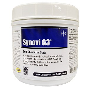 Synovi G3 Soft Chews for Dogs