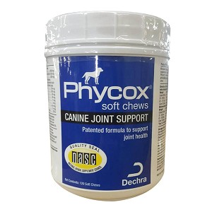 Phycox Canine Joint Support, 120 Soft Chews