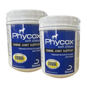 Phycox One Soft Chew 120 ct, 2 PACK