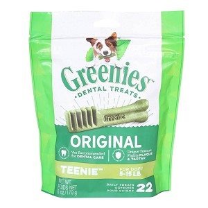 Greenies Teenie Dental Chews for Dogs
