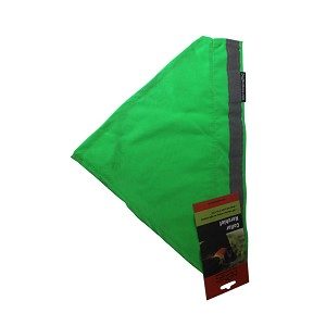 No Fly Zone Safety Kerchief Neon Green