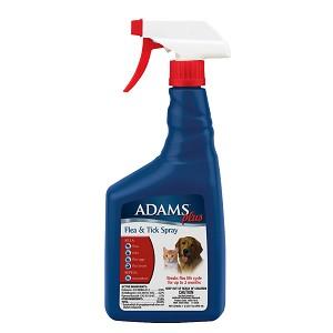Adams Plus Flea Amp Tick Spray 32 Ounce Bottle