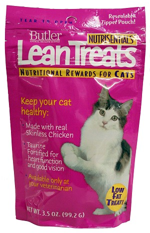 NutriSentials Lean Treats for Cats