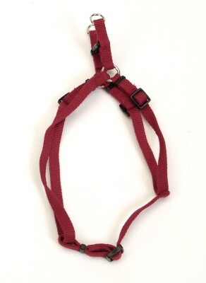 "#14945 Soy Comfort Harness 38"" Cranberry"