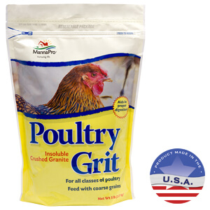 Manna Pro Poultry Grit with Probiotics, 5 lb, Adult