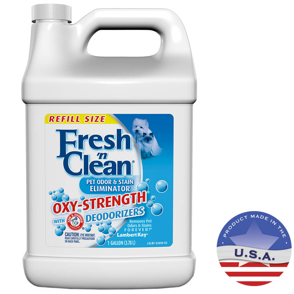 Fresh `n Clean Oxy-Strength Odor & Stain Eliminator, Gallon