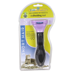 FURminator deShedding Tool for Small Cat with Short Hair